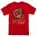 Dum Dums t-shirt 5 for 5 cents mens red