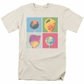 Dum Dums t-shirt Pop Art mens cream