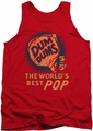 Dum Dums tank top 5 For 5 mens red