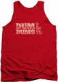 Dum Dums tank top World'S Best mens red