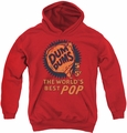 Dum Dums youth teen hoodie 5 For 5 red
