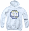 Dum Dums youth teen hoodie Pop Parade white