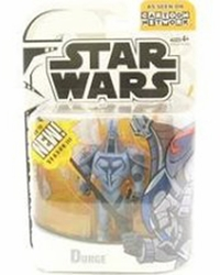 Durge action figure Clone Wars Cartoon Network