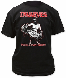 Dwarves young & good looking adult tee mens black pre-order