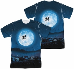 E.T. mens full sublimation t-shirt Moon