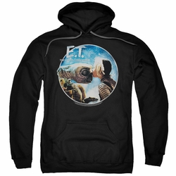 E.T. pull-over hoodie Gertie Kisses adult black