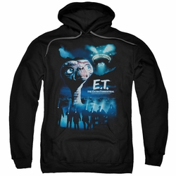 E.T. pull-over hoodie Going Home adult black