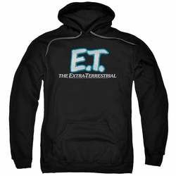 E.T. pull-over hoodie Logo adult black