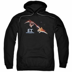 E.T. pull-over hoodie Poster adult black