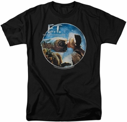 E.T. t-shirt Gertie Kisses mens black