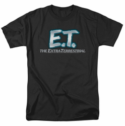 E.T. t-shirt Logo mens black