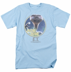 E.T. t-shirt Phone Home mens light blue