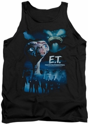 E.T. tank top Going Home mens black