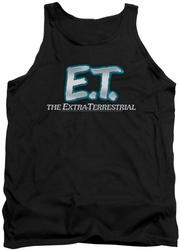 E.T. tank top Logo mens black