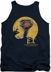 E.T. tank top Moon Frame mens navy