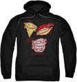 Ed Edd Eddy pull-over hoodie Three Heads adult black