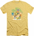 Ed Edd Eddy slim-fit t-shirt Jawbreakers mens banana