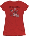 Ed Edd N Eddy juniors t-shirt Gang red