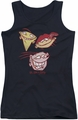 Ed Edd N Eddy juniors tank top Three Heads black
