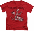 Ed Edd N Eddy kids t-shirt Gang red