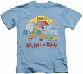 Ed Edd N Eddy kids t-shirt Jawbreakers carolina blue