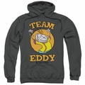 Ed Edd N Eddy pull-over hoodie Team Eddy adult charcoal