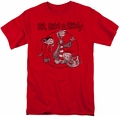 Ed Edd N Eddy t-shirt Gang mens red