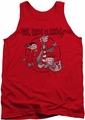 Ed Edd N Eddy tank top Gang mens red