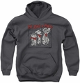 Ed Edd N Eddy youth teen hoodie Stand By Me charcoal
