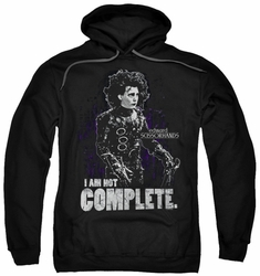 Edward Scissorhands pull-over hoodie Not Complete adult black
