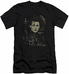 Edward Scissorhands slim-fit t-shirt Edward mens black