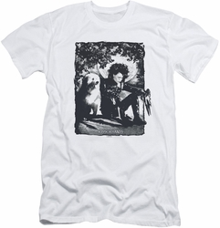 Edward Scissorhands slim-fit t-shirt Lucky Dog mens white