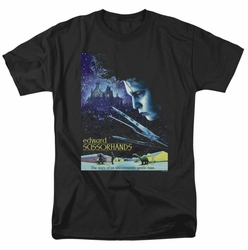 Edward Scissorhands t-shirt Poster mens black