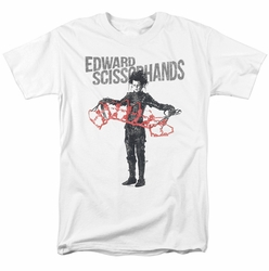 Edward Scissorhands t-shirt Show and Tell mens white