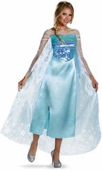 Elsa adult deluxe costume Disney Frozen