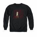 Elvis adult crewneck sweatshirt Elvis 68 Album black