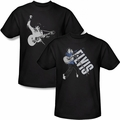 Elvis Presley mens black t-shirt