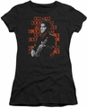 Elvis Presley juniors t-shirt 1968 black