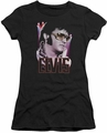 Elvis Presley juniors t-shirt 70's Star black