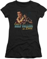 Elvis Presley juniors t-shirt Can't Help Falling black
