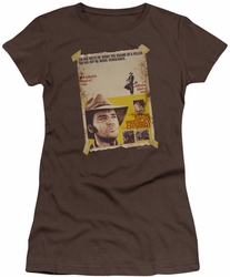 Elvis Presley juniors t-shirt Charro coffee