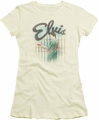 Elvis Presley juniors t-shirt Colorful King cream/ivory