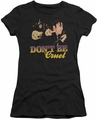 Elvis Presley juniors t-shirt Don't Be Cruel black