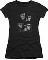 Elvis Presley juniors t-shirt Faces black