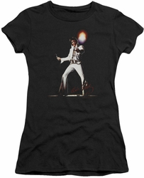 Elvis Presley juniors t-shirt Glorious black