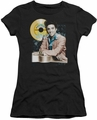 Elvis Presley juniors t-shirt Gold Record black