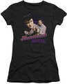 Elvis Presley juniors t-shirt Heartbreak Hotel black
