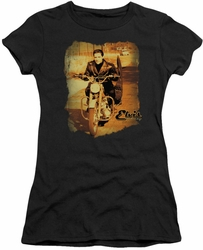 Elvis Presley juniors t-shirt Hit The Road black