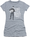 Elvis Presley juniors t-shirt In Person athletic heather