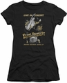 Elvis Presley juniors t-shirt Live In Buffalo black